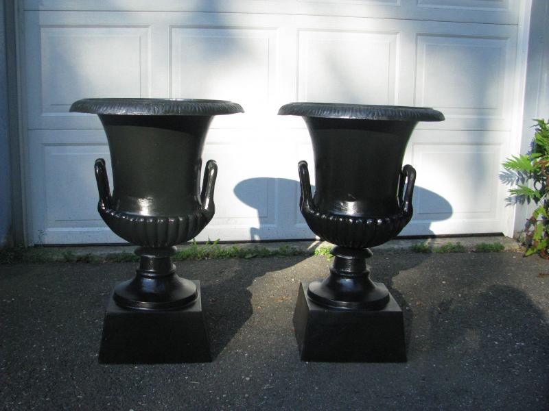 refinished urns