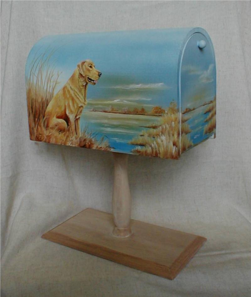Labrador Mailbox